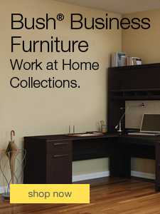 Bush Business Furniture. Work at Home Collections.