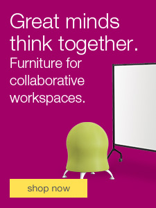 Furniture for collaborative workspaces.