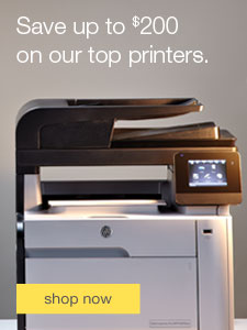 Save up to $200 on our top printers.