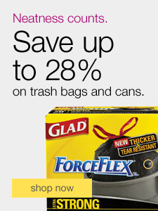 Glad® trash bags