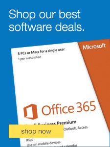 Shop our best software deals.