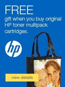 FREE gift when you buy HP toner multipacks.