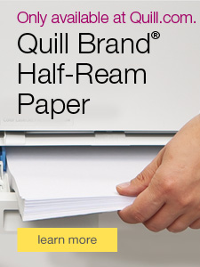 Only available at Quill.com. Quill Brand® 250-sheet Paper Packs