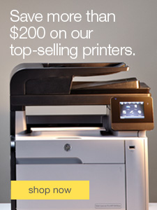 Save more than $200 on our top-selling printers.