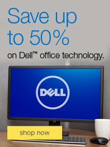Save up to 50% on Dell™ office technology.