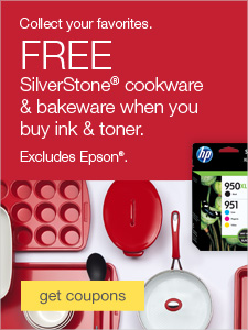 Collect your favorites. FREE Silverstone® cookware & bakeware when you buy ink & toner. Excludes Epson®.