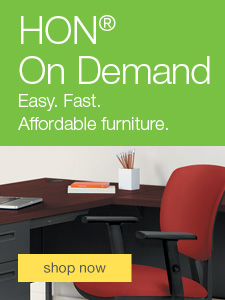 HON® On Demand. Easy. Fast. Affordable furniture.