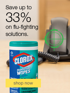 Save up to 33% on flu-fighting solutions.