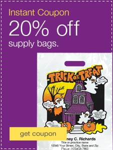 20% off when you spend $200 on regular-priced supply bags.