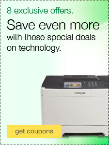 Save even more with these special deals on technology.