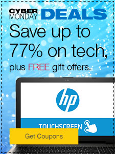 Cyber Monday Deals Save up to 77% on tech, plus FREE gift offers.