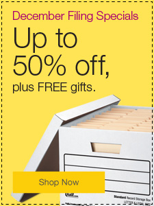 December Filing Specials. Up to 50% off, plus FREE gifts.