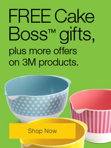 FREE Cake Boss gifts, plus more offers on 3M products.