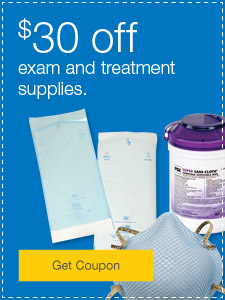 $30 off exam and treatment supplies.