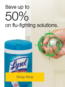 Save up to 50% on flu-fighting solutions.