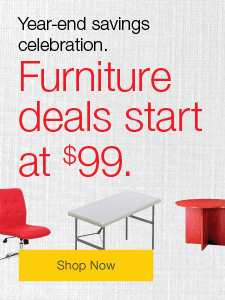Year-end savings celebration. Furniture deals start at $99.