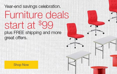 Year-end savings celebration. Furniture deals start at $99, plus FREE shipping and more great offers.