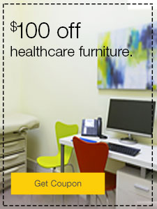 $100 off healthcare furniture.
