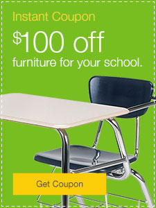 $100 off furniture for your school.