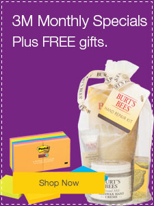 3M Monthly Specials Plus FREE gifts.