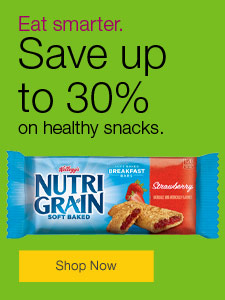 Keep the office happy. Save up to 30% on snacks.