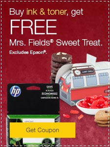 Buy ink & toner, get FREE Decorative Delights. Excludes Epson&reg.