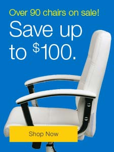 Over 90 chairs on sale! Save up to $100.