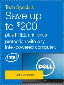 Tech Specials. Save up to $200 plus FREE anti-virus protection with any Intel-powered computer.