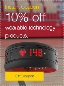 10% off wearable technology products.