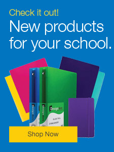 Check it out! New education products to help keep your school running.