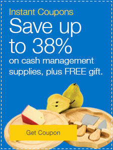 Save up to 38% on Cash Management Sale Items PLUS Free Gift