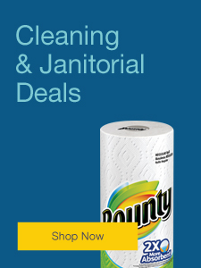 Cleaning &  janitorial deals.