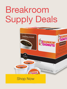 Breakroom supply deals.