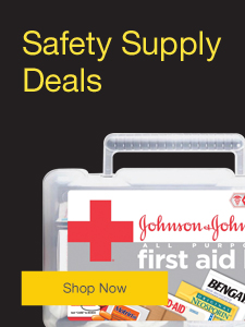Safety supply deals.