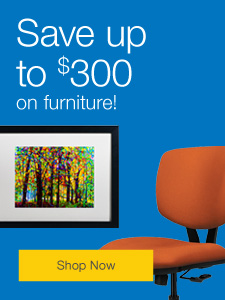 Save up to $300 on furniture.