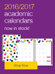 2016/2017 academic calendars now in stock!