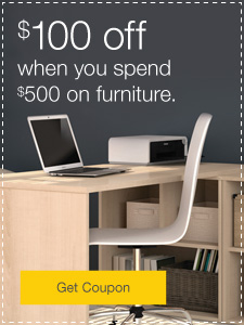 Furniture Monthly Specials. $100 off when you spend $500.