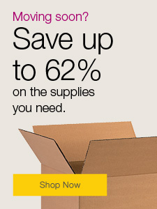 Moving soon? Save up to 62% on the supplies you need.