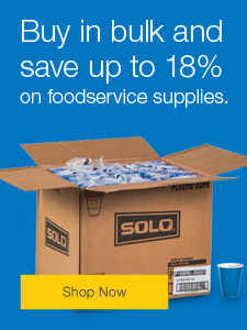 Buy in bulk and save up 18% on foodservice supplies.