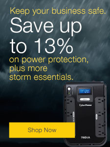 Save up to 13% on power protection, plus more storm essentials.