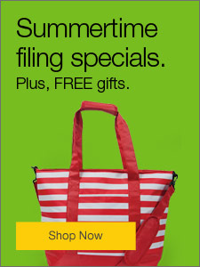 Summertime Filing Specials. Plus, FREE gifts.