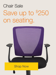 Chair Sale. Save up to $250 on seating.