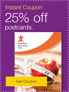 25% off postcards.