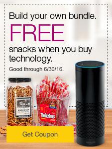 Build your own bundle. FREE snacks when you buy technology.