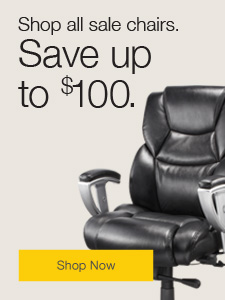 Save up to $100 on seating.