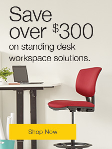 Save over $130 on sit-stand solutions.