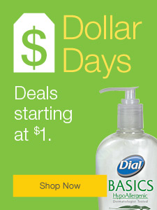 Dollar Days  |  Deals starting at $1.