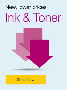 New, lower prices. Ink & Toner