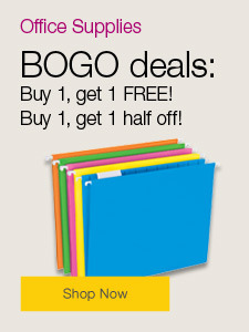 BOGO deals on office supplies!