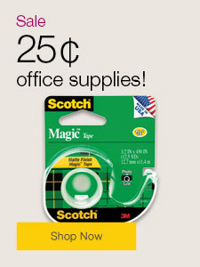 25¢ office supplies!